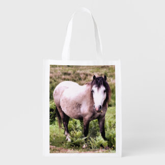 HORSE REUSABLE GROCERY BAG
