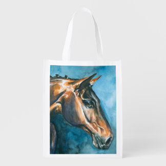 Horse Reusable Grocery Bags