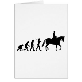Horse Rider Card