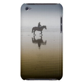 Horse riders at the beach iPod touch Case-Mate case