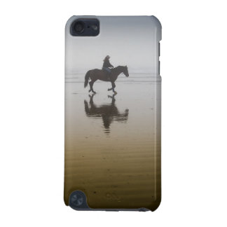 Horse riders at the beach iPod touch 5G covers