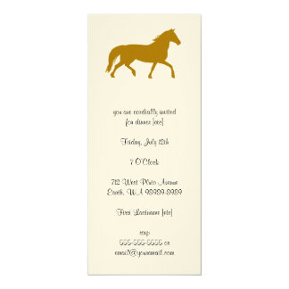 Horse (riding, equestrian) card