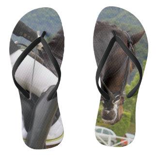 Horse riding flip flops