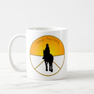 Horse Riding Soul Rising Coffee Mug