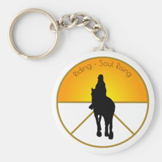 Horse Riding Soul Rising Keychain