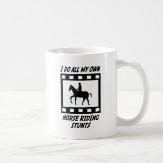 Horse Riding Stunts Coffee Mugs