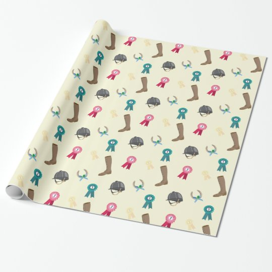 Horse Riding themed Wrapping