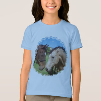 Horse Romance Girl's T-Shirt
