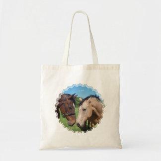 Horse Romance Small Canvas Bag