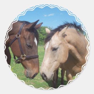 Horse Romance Stickers