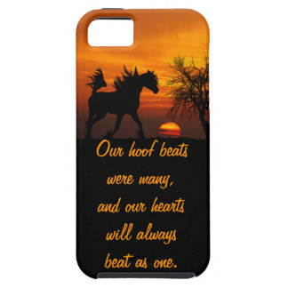 Horse Running Free at Sunset iPhone 5 Case