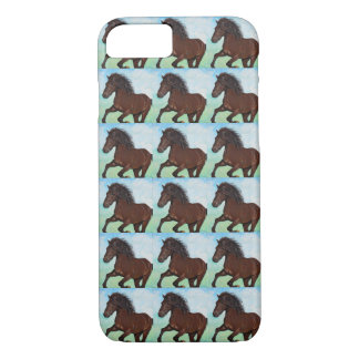 Horse Running Free iPhone 8/7 Case