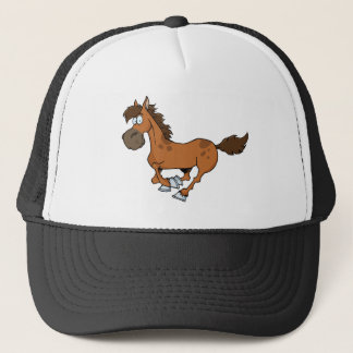 Horse Running Trucker Hat