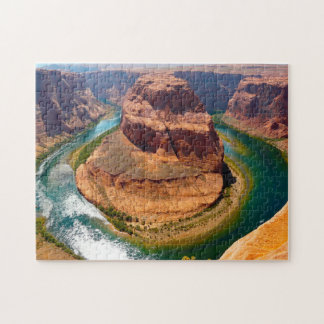 Horse Shoe Bend Colorado River Arizona. Jigsaw Puzzle
