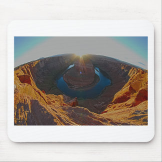 Horse Shoe Bend in Page, Arizona Mouse Pad