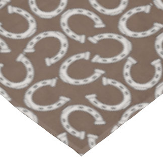 Horse shoe pattern Country table cloth