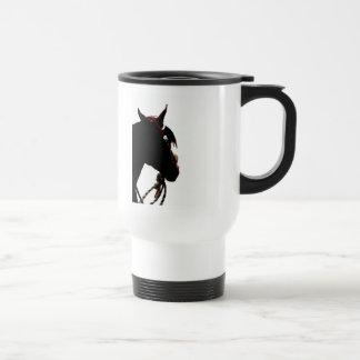 Horse Show Mom Travel Mug - western