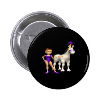 Horse Show Pinback Buttons