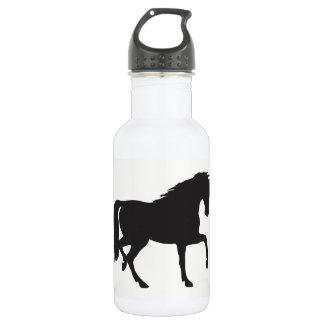 Horse Silhouette 532 Ml Water Bottle
