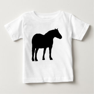 Horse Silhouette Baby T-Shirt