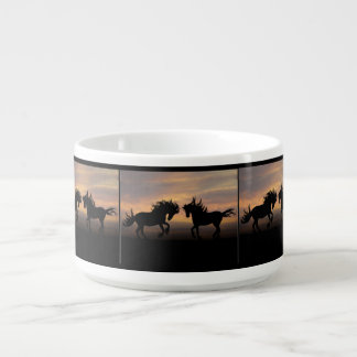 Horse Silhouette Bowl