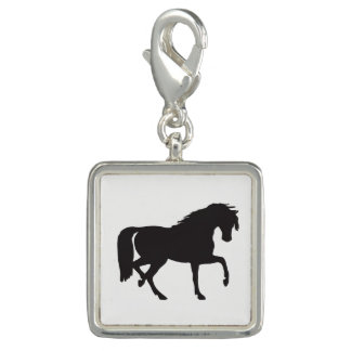 Horse Silhouette Charm