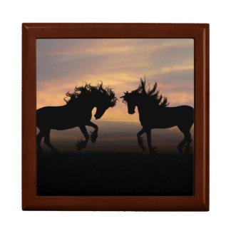 Horse Silhouette Gift Box