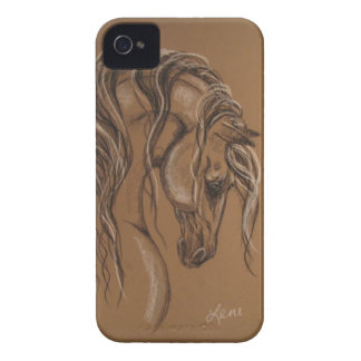 Horse Sketch iPhone 4 Covers