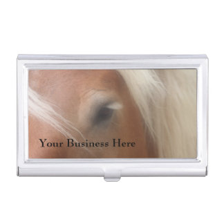 Horse Soulful Eye Equine Business Card Holder