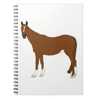 Horse Spiral Notebooks
