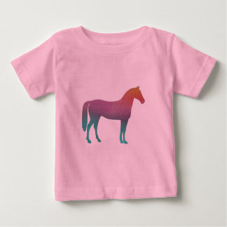 Horse stained glass baby T-Shirt