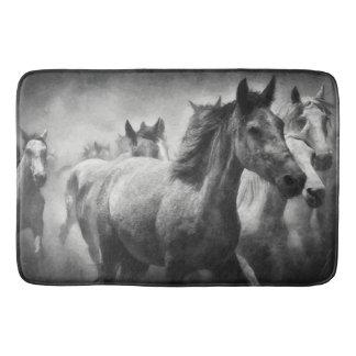 Horse Stampede Bath Mat