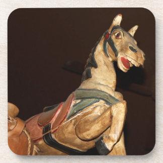 Horse Statue and Mexican Decor Photo Coaster