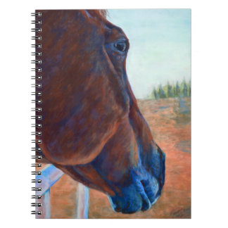 Horse Study in Brown Note Books