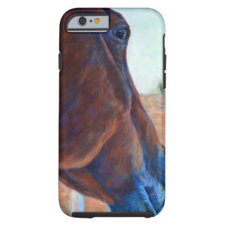 Horse Study in Brown Tough iPhone 6 Case