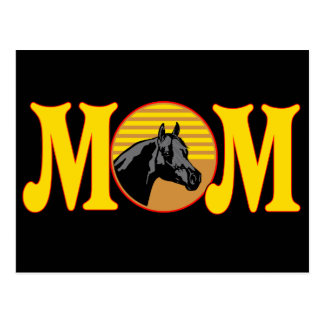 Horse T-shirts and Gifts For Mom Postcard