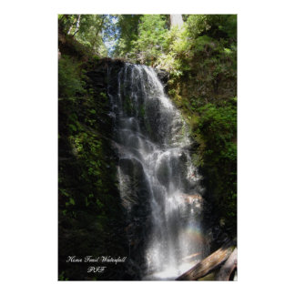 Horse Trail Waterfall Posters