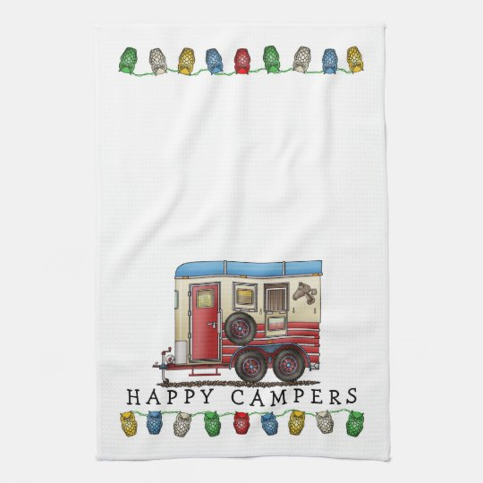 Horse Trailer Camper Hand Towels