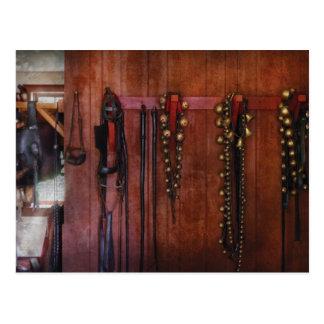 Horse Trainer - Jingle Bells Postcard
