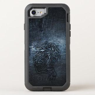 Horse Tribal Steel OtterBox Defender iPhone 8/7 Case