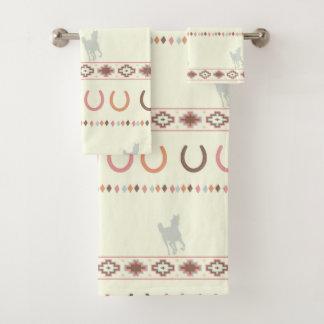 Horse Tribal Towels