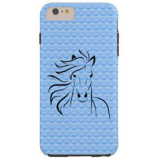 Horse w/Blue Background iPhone 6 Plus Case