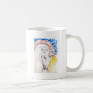 Horse Watercolor Art Coffee Mug