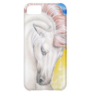 Horse Watercolor Art Cover For iPhone 5C