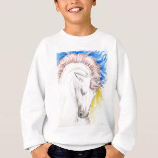 Horse Watercolor Art Sweatshirt