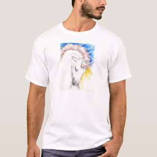 Horse Watercolor Art T-Shirt