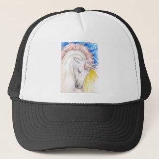 Horse Watercolor Art Trucker Hat