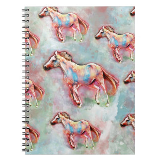 Horse watercolor notebooks