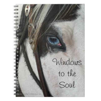Horse Windows To The Soul Notebook or Journal