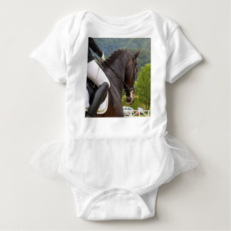 Horse with Raising Baby Bodysuit